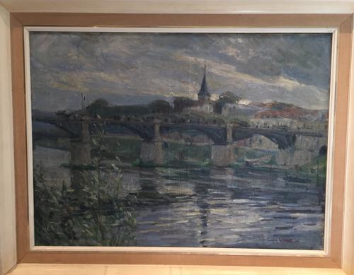 French Landscape Oil Painting (1 of 1)