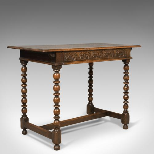 Georgian Antique Side Table, English, Oak, 18th Century c.1780 (1 of 1)