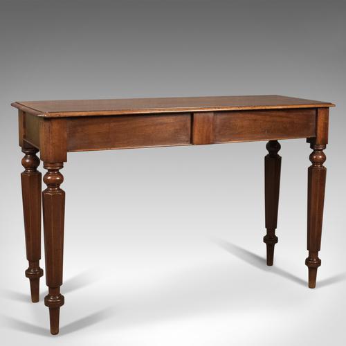 Antique Console Table, English, Mahogany, Regency c.1820 (1 of 1)