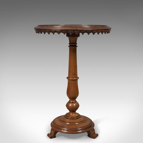Antique Club Wine Table, Mahogany, William IV, English, c.1830 (1 of 1)