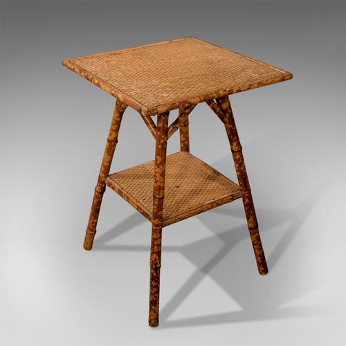Late 19th Century Antique Bamboo Table, Oriental, Victorian c.1890 (1 of 1)