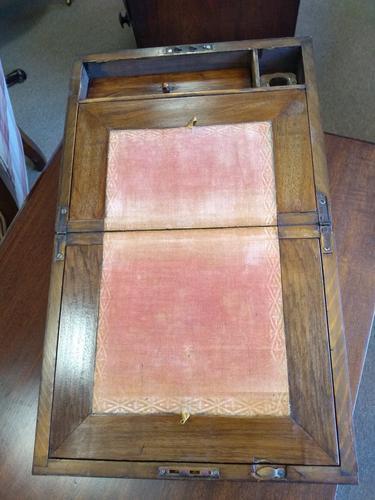 Burr Walnut Writing Slope c.1900 (1 of 10)