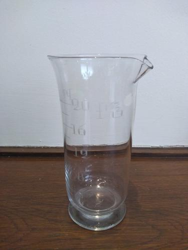 Large Apothecary / Chemist Measuring Glass (1 of 3)