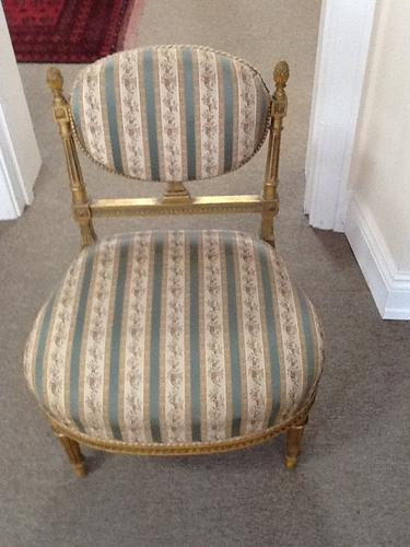 Pair of French Salon Chairs (1 of 1)