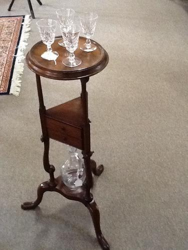 "Georgian Mahogany ""Port Service"" Table (1 of 1)"