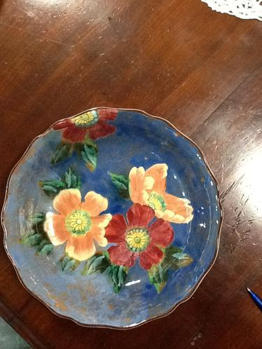 1930s Royal Doulton Floral Pattern Bowl (1 of 1)