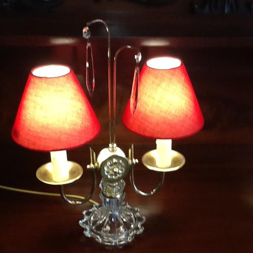 Pair of 1940s / 1950s Table Lights (1 of 1)