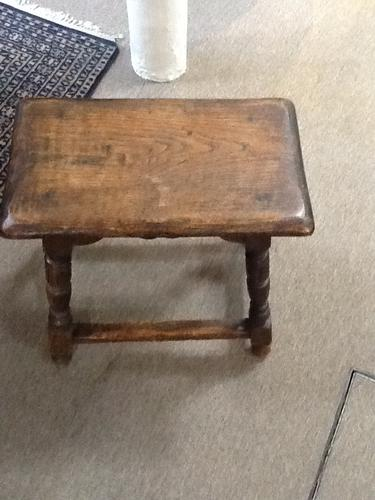 19th Century Joint Stool (1 of 1)