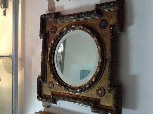 19th Century Wall Mirror (1 of 1)