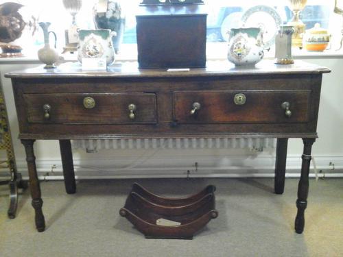 Georgian Oak Dresser Base c.1780 (1 of 1)