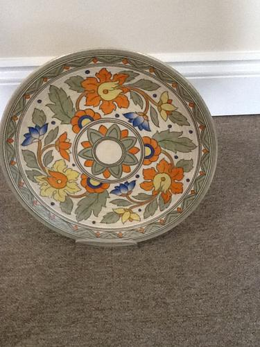 Charlotte Rhead Charger (1 of 1)