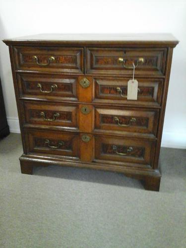 17th Century Oak Chest of Drawers (1 of 1)