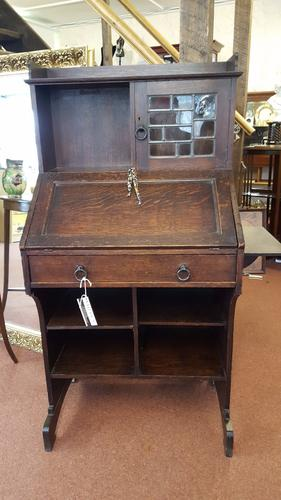 Liberty & Co Arts & Crafts Bureau Bookcase (1 of 1)