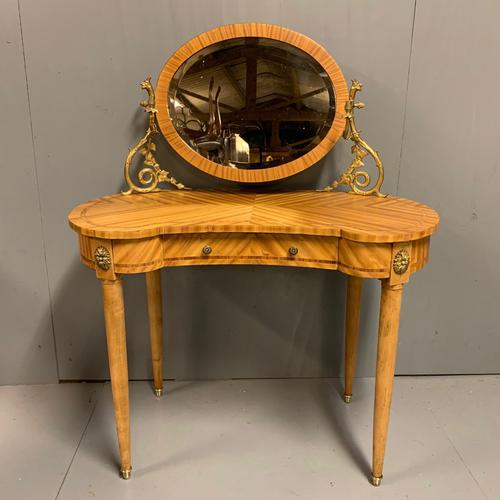 French Kidney Shape Dressing Table (1 of 10)