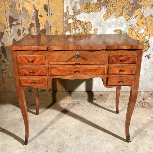 French Walnut Dressing Table with Lift Top (1 of 1)