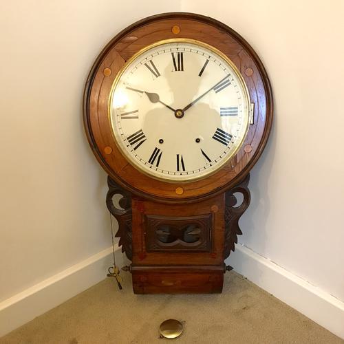 American Drop Dial Clock (1 of 1)