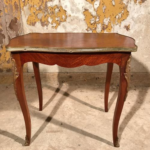French Louis XV Style Coffee Table with Ormolu (1 of 1)