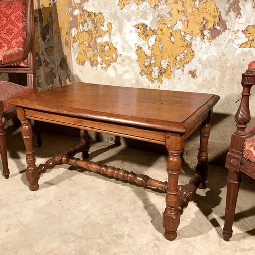 French Oak Coffee Table C.1900 (1 of 1)