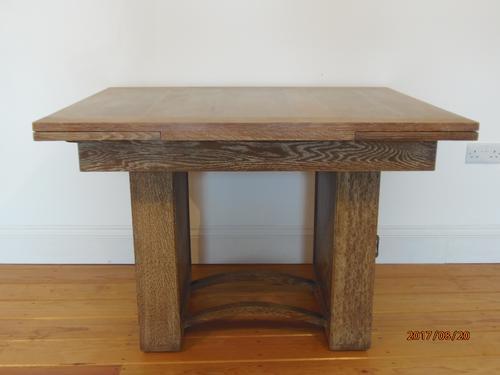 Heals Limed Oak Extending Dining Table (1 of 10)