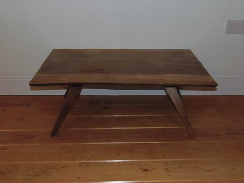 Andamans Padouk Retro Coffee Table C.1950 (1 of 1)