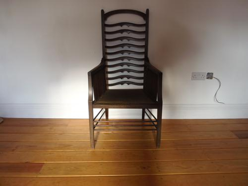 Wylie & Lochhead Arts & Crafts Chair (1 of 1)