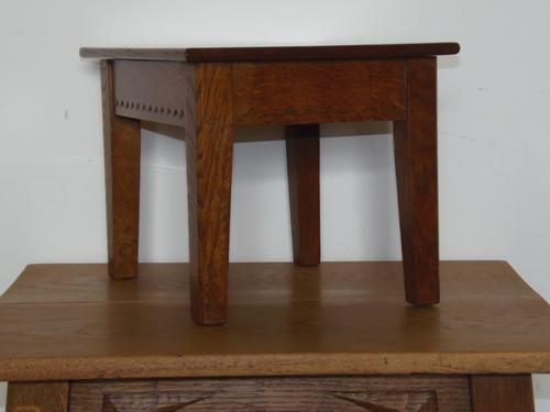 Cotswold School Arts and Crafts Stool (1 of 1)