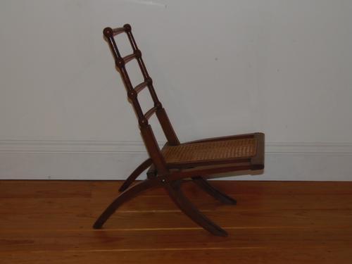 Godwin Style Arts & Crafts Folding Chair (1 of 1)