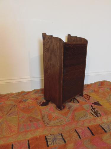 Arts & Crafts Oak Cabinet (1 of 1)