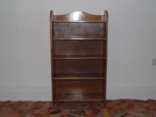 Golden Oak Arts & Crafts Bookshelf (1 of 1)