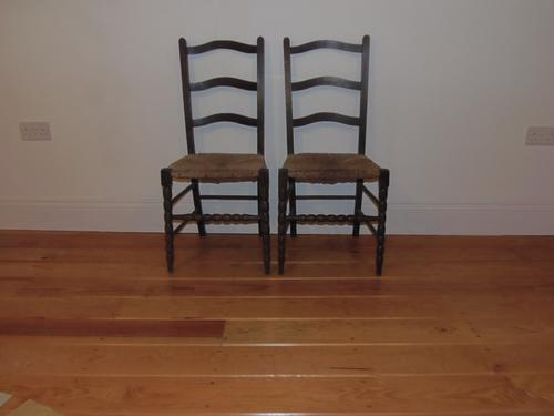 Pair of Heals Style Arts & Crafts Chairs (1 of 1)