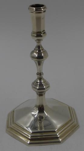 Antique Silver Taperstick. London 1902. (1 of 6)