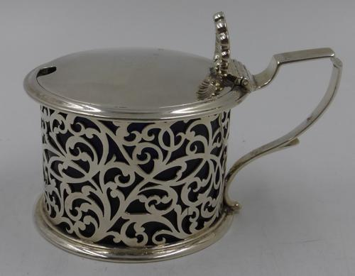 Antique William IV Silver Mustard. London 1835 (1 of 9)