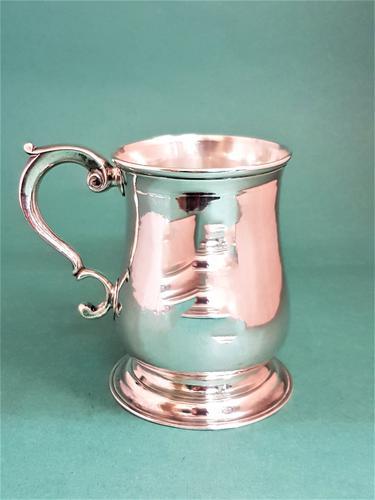 Beautiful Antique George II Silver Mug (1 of 1)