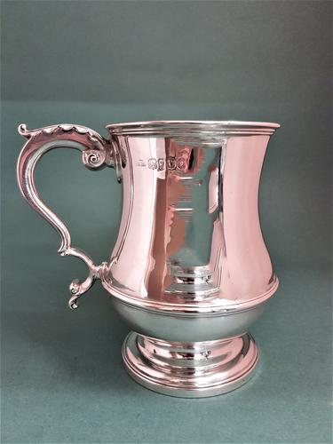 Fine Quality Antique William IV Silver Mug (1 of 1)