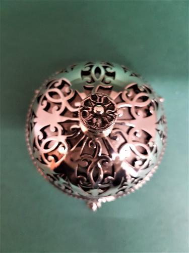 Lovely Antique Edwardian Silver Desk Bell (1 of 1)