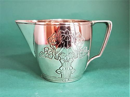 Beautiful American Art Deco Silver Cream Jug by Tiffany & Co (1 of 1)