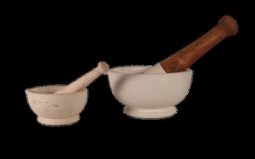 Two Mortars and Pestles (1 of 3)