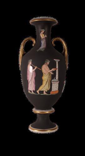 Classical Pratt Vase c.1870 (1 of 4)