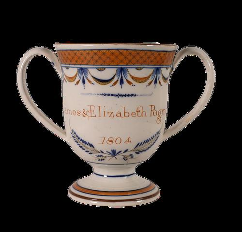 Pearlware Loving Cup (1 of 5)