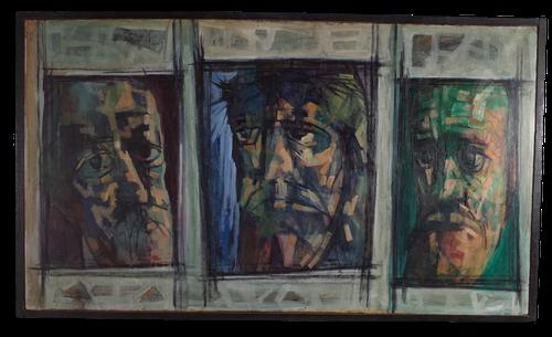 Triptych of Three Men (1 of 5)