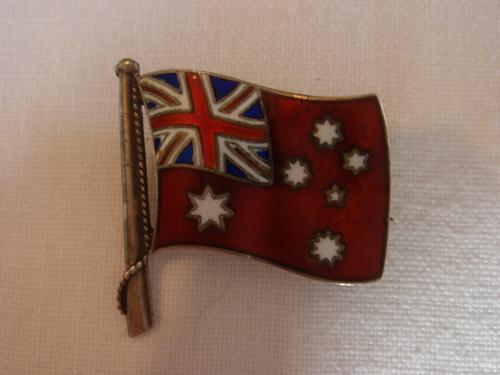 Marius Hammer Enamel Flag (1 of 2)