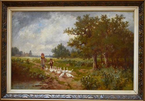 James Seymour Adam's Oil Painting (1 of 6)