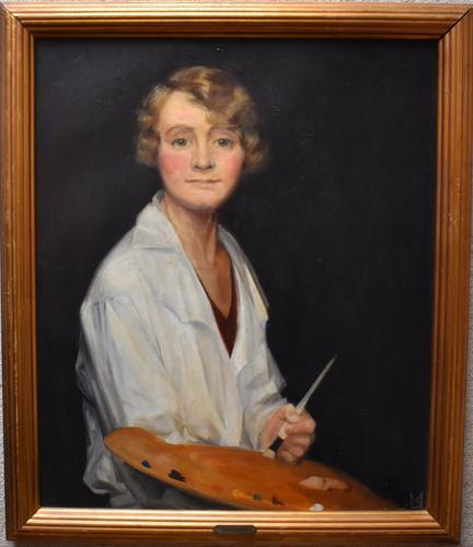 Kirsten Ulrich Danish School 1928 Art Deco Period (1 of 10)