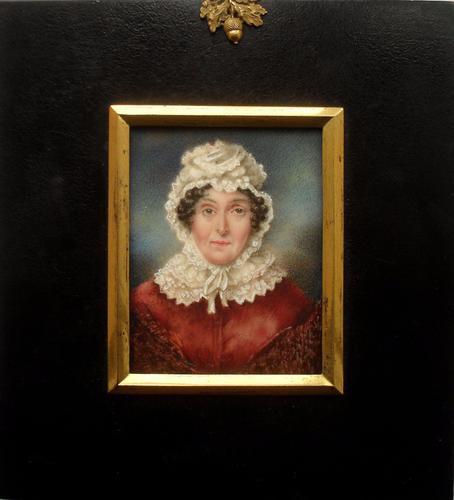 Elizabeth Hill of Pepper Hill Portrait Miniature c.1835 (1 of 1)