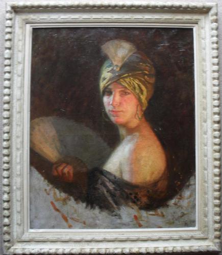 Lipót Illencz (1882-1950) Munich School C1925 Post Impressionist Oil Painting (1 of 1)