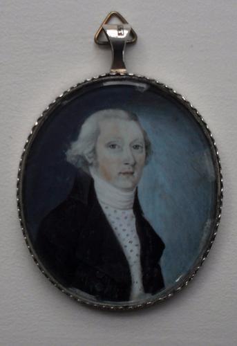 Portrait Miniature Circle of Christian Hornemann C.1815 (1 of 1)