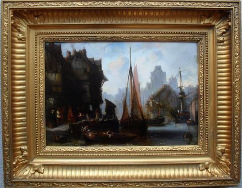 Circle of Charles Kuwasseg Oil Painting (1 of 1)