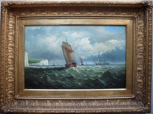 William Broome of Ramsgate Off the French Coast 1860 (1 of 1)