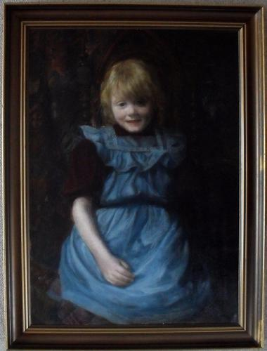 Danish School Late 19th Century Oil Painting Academy Label (1 of 1)