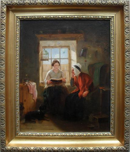John Macdonald Scottish School Oil Painting c.1850 (1 of 1)